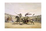 The Bull Following Up the Charge, 1865 Giclee Print by William Henry Lake Price