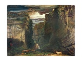 Gordale Scar, 1813 Giclee Print by James Ward