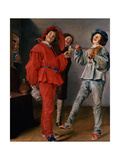 Three Boys Merry-Making, C.1629 Giclee Print by Judith Leyster