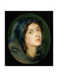 Miss Burton Giclee Print by Dante Gabriel Rossetti