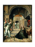The Annunciation, Early 16th Century Giclee Print by Bernart Van Orley