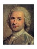 Portrait of Jean Jacques Rousseau, 1712-78 Giclee Print by Maurice Quentin de La Tour