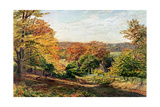 Otford Church Giclee Print by Samuel Palmer