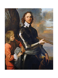 Portrait of Oliver Cromwell (1599-1658) 1649 Giclee Print by Robert Walker