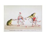 Grimaldi's Leap Frog in the Comic Pantomime of the Golden Fish, 1812 Giclee Print by William Heath