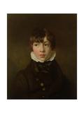Portrait of a Boy Giclee Print by Sir George Hayter