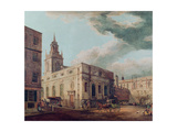 St. Lawrence Jewry and the Guildhall Giclee Print by Thomas Malton