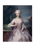 Portrait of Mrs Shakespeare, 1739 Giclee Print by Philippe Mercier