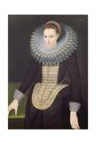 Portrait of a Lady, 1613 Giclee Print by Cornelis van der Voort