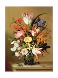 Flowers in a Vase, 1635 Giclee Print by Jacob Marrel