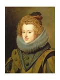 The Infanta Maria of Austria (1606-46) Queen of Hungary, 1630 Giclée-Druck von Diego Rodriguez de Silva y Velazquez