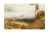 Edinburgh from Corstorphine Giclee Print by John MacWhirter