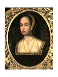 Portrait of Anne Boleyn (C.1507-36), 1533 Giclee Print