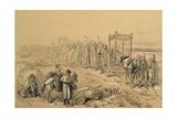 Irish Funeral Giclee Print by John Doyle