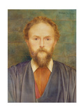 Portrait of William De Morgan, 1893 Giclee Print by Evelyn De Morgan