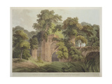 Ruins of the Ancient City of Gour, Formerly on the Banks of the River Ganges, from 'Oriental… Giclee Print by Thomas Daniell