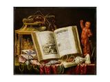 A Vanitas Still Life Giclee Print by Simon Renard De Saint-andre
