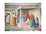 The Resurrection of Tabitha, C.1425-28 (Detail) Giclee Print by Tommaso Masolino Da Panicale