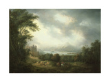 View of Loch Lomond Giclee Print by Alexander Nasmyth