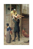 Rescued from the Plague, London 1665, 1898 Giclee Print by Frank Topham