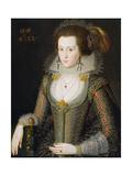 Elizabeth Poulett, 1616 Giclee Print by Robert Peake