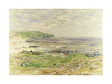 Preaching of St. Columba, Iona, Inner Hebrides Giclee Print by William McTaggart
