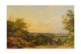 The Evening Coach, London from Greenwich, 1805 Giclee Print by Philip James De Loutherbourg