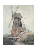 Draining Mill in Lincolnshire, 1807-08 Giclee Print by John Sell Cotman