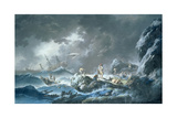 Shipwreck Giclee Print by Jean Baptiste Pillement
