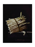 Bunch of Asparagus, 1703 Giclee Print by Adrian Coorte