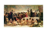 The Babylonian Marriage Market, 1875 Giclee Print by Edwin Longsden Long