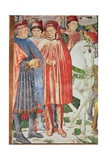 The Life of St. Augustine (Detail) Giclee Print by Benozzo di Lese di Sandro Gozzoli