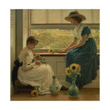 Sun and Moon Flowers, 1889 Giclee Print by George Dunlop Leslie
