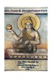 Vaidya Dhanvantari, Supreme Saint of Ayurveda Medicine Giclee Print