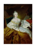 Portrait of the Empress Elizabeth Petrovna, C.1745 Giclee Print by Georg Christoph Grooth