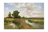 A Summer's Day, 19th Century Giclee Print by Keeley Halswelle