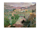 Soller, Majorca Giclee Print by Santiago Rusinol i Prats