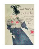 Poster Advertising 'La Revue Blanche', 1895 Lámina giclée por Henri de Toulouse-Lautrec