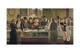 The Public Bar, 1883 Giclee Print by John Henry Henshall
