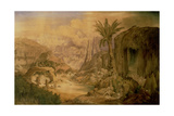 Architecture: its Natural Model, C.1838 Giclee Print by Joseph Michael Gandy