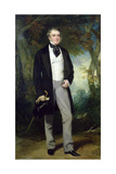 Portrait of William Beckett Giclee Print by Sir Francis Grant