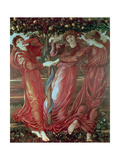 Garden of the Hesperides, 1870-73 Giclee Print by Sir Edward Coley Burne-Jones