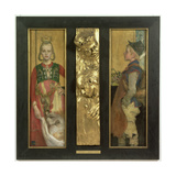 A Swedish Fairytale, Diptych with Relief Panel and Frame. 1897 Giclee Print by Carl Larsson