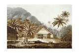 View in the Island of Cracatoa, from 'Views in the South Seas', Pub. 1789 Giclee Print by John Webber