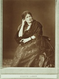 Juliette Adam, Nee Lamber (1836-1936), from 'Galerie Contemporaine', C.1874-78 Photographic Print by Ferdinand Mulnier