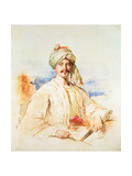 Portrait of a Man in Oriental Dress, 1861 Giclee Print by Kenneth Macleay