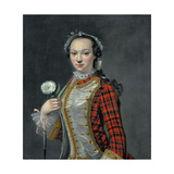 Portrait of a Jacobite Lady Giclee Print by Cosmo Alexander