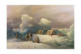 Arctic Expedition: the Most Northern Encampment of H.M.S. Alert, 1877 Reproduction procédé giclée par Richard Bridges Beechey