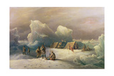 Arctic Expedition: the Most Northern Encampment of H.M.S. Alert, 1877 Giclee Print by Richard Bridges Beechey