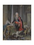 King Gustav III of Sweden (1746-92) 1792 Giclee Print by Niclas II Lafrensen